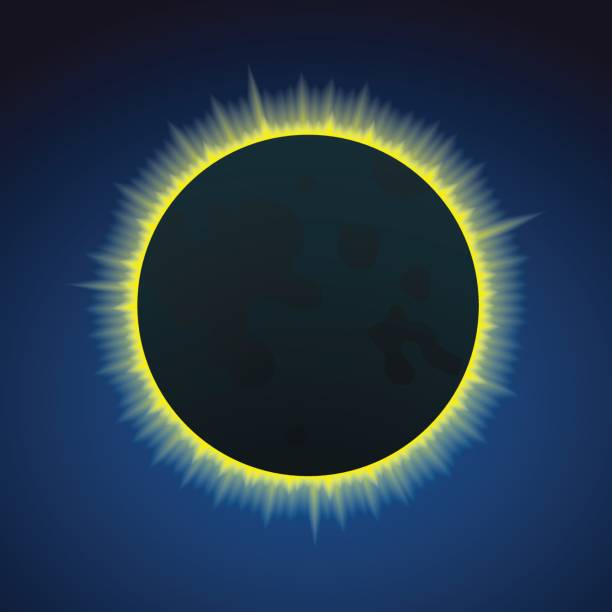 Best Solar Eclipse Illustrations Royalty Free Vector