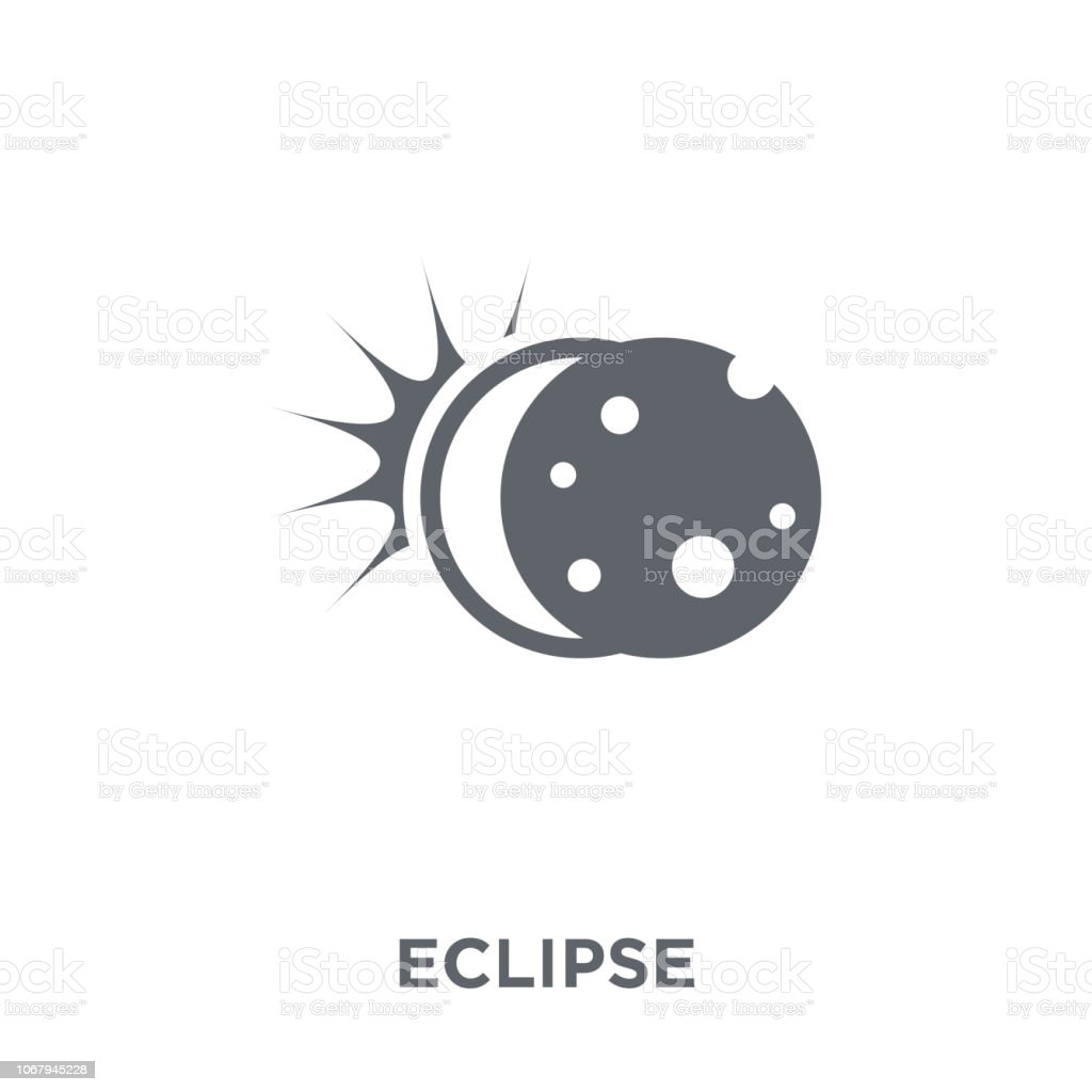 Eclipse icon from Astronomy collection.
