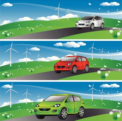 Eco Car Banner