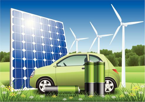 Eco Energy Hybrid Car