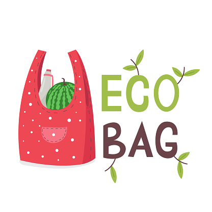 Eco Fabric Grocery Shopping Bag
