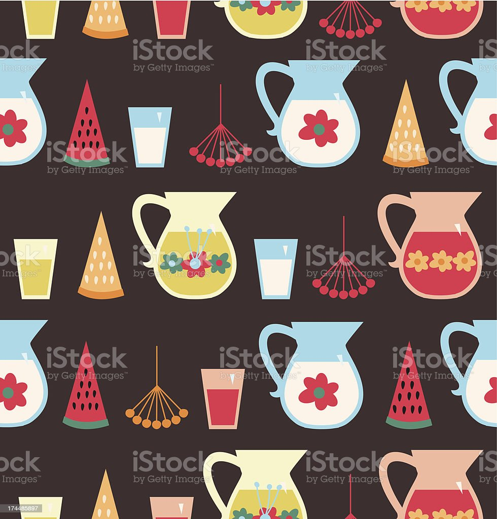 Eco food background royalty-free stock vector art