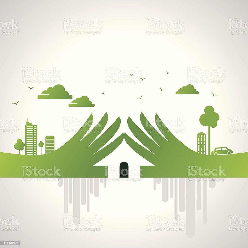 eco friendly concept royalty-free eco friendly concept stock vector art & more images of apartment