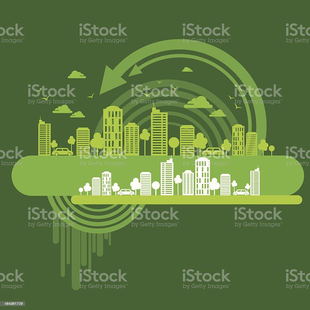 eco friendly concept royalty-free stock vector art