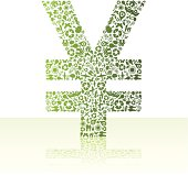 Eco friendly green Yen