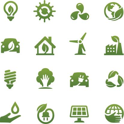 Eco Friendly Icons - Acme Series