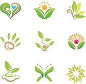 Eco friendly nature and healthy green business for the world