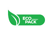 Eco Friendly Pack Badge