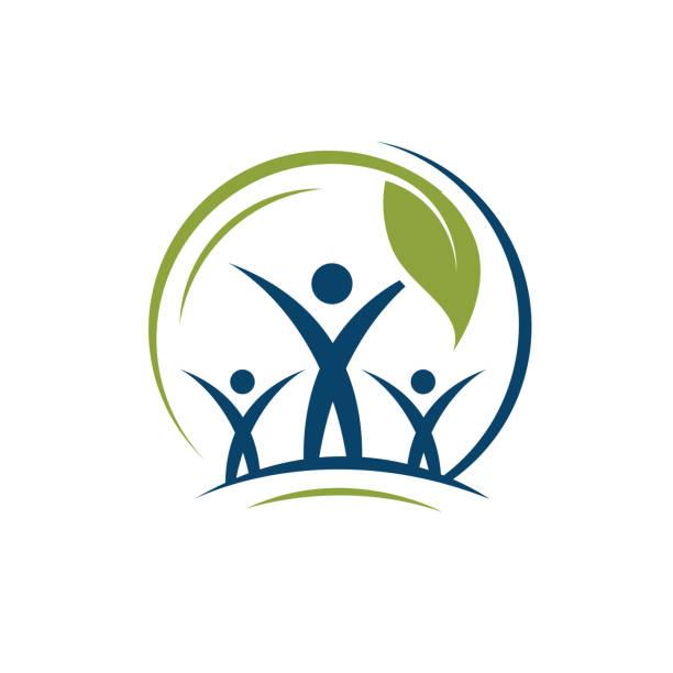 ilustrações de stock, clip art, desenhos animados e ícones de eco green logo - alter do chão
