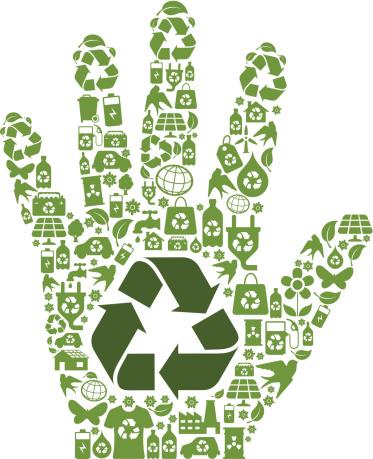 Eco Hand Symbol