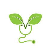 eco health. eps 10 vector file