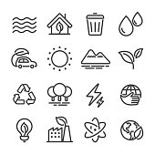 Eco Icons - Line Series