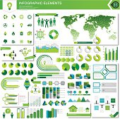Vector infographic elements. AI CS5, EPS 10 and JPG.