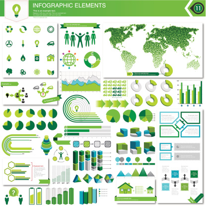 Eco Infographic Elements