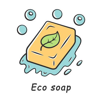 Eco soap color icon