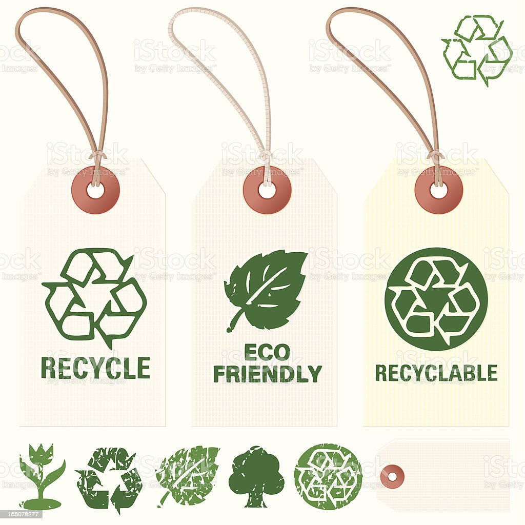 Eco Tags royalty-free eco tags stock vector art & more images of alternative energy