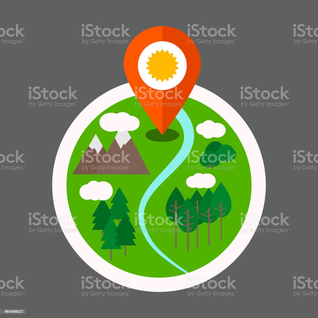 Eco tourism logo royalty-free eco tourism logo stock vector art & more images of brown