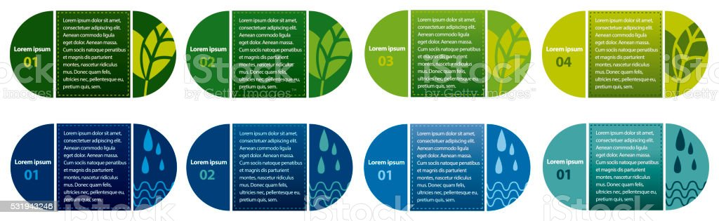 Ecologic infographics 4 royalty-free ecologic infographics 4 stock vector art & more images of blue