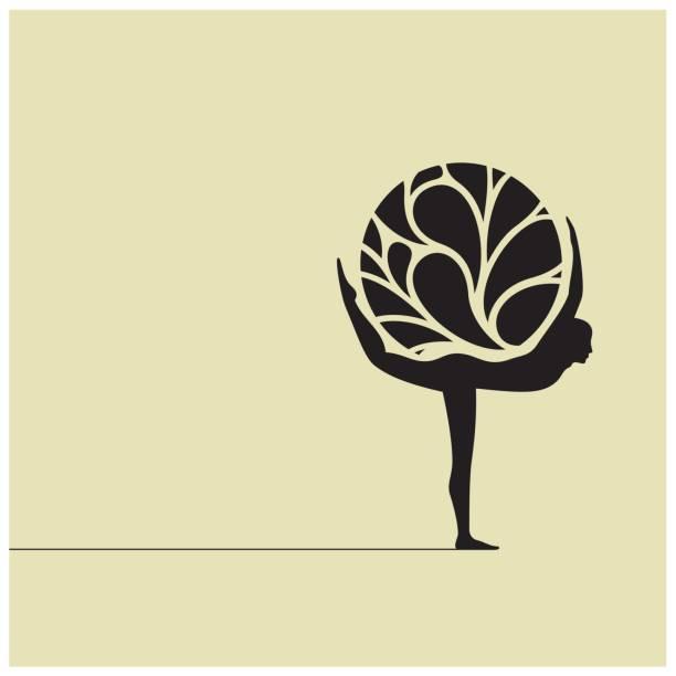 Ecological balance vector art illustration
