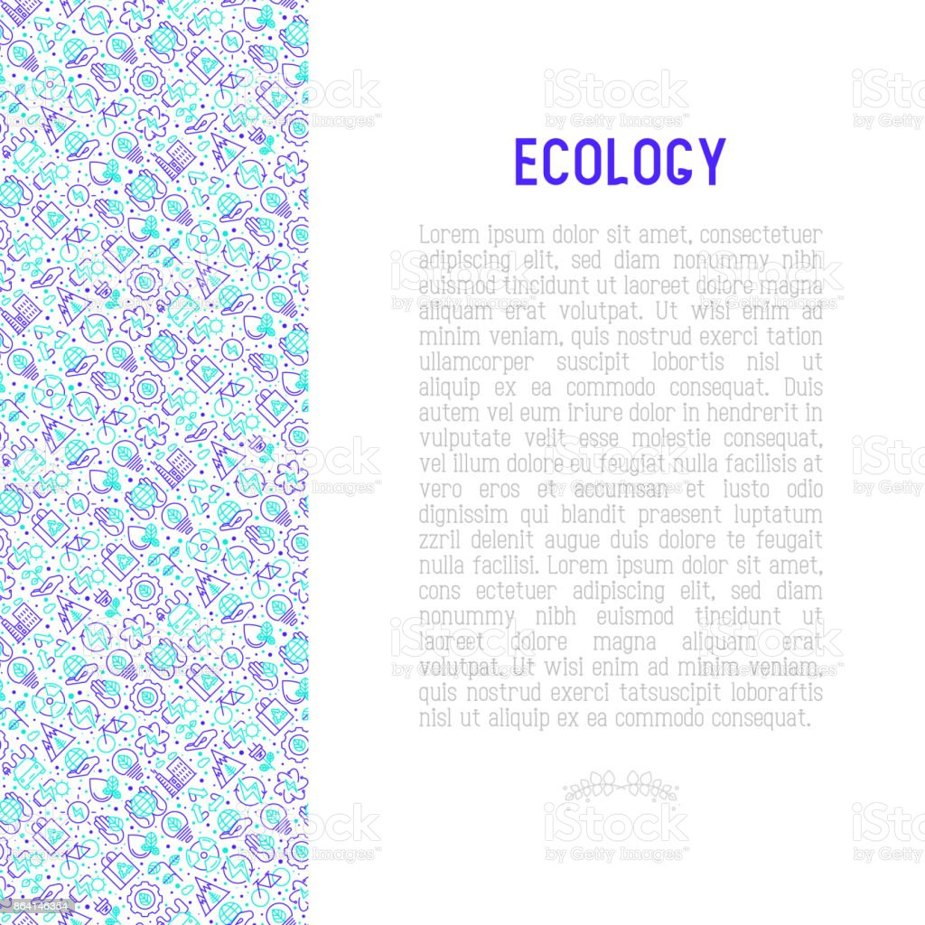 Ecology and green energy concept with thin bicolor line icons for environmental, recycling, renewable energy, nature. Vector illustration for banner, web page, print media. royalty-free ecology and green energy concept with thin bicolor line icons for environmental recycling renewable energy nature vector illustration for banner web page print media stock vector art & more images of a helping hand