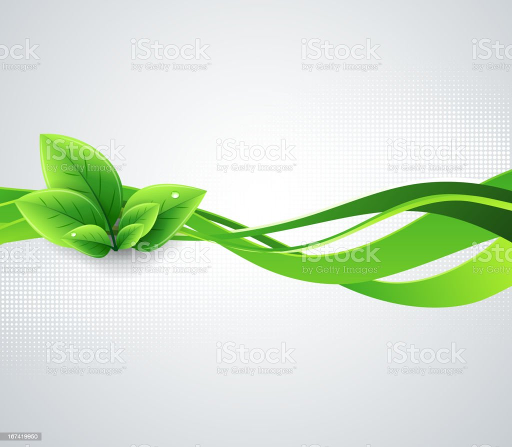Ecology background royalty-free stock vector art