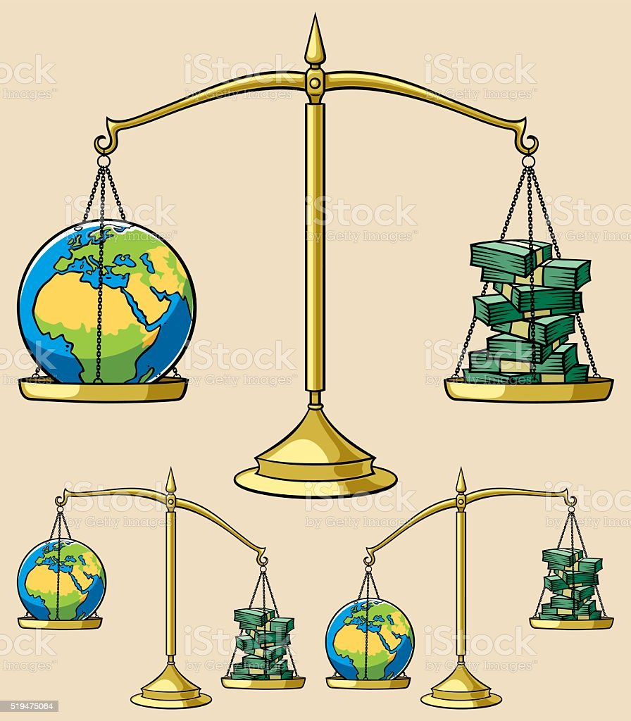 Ecology Concepts 4 vector art illustration