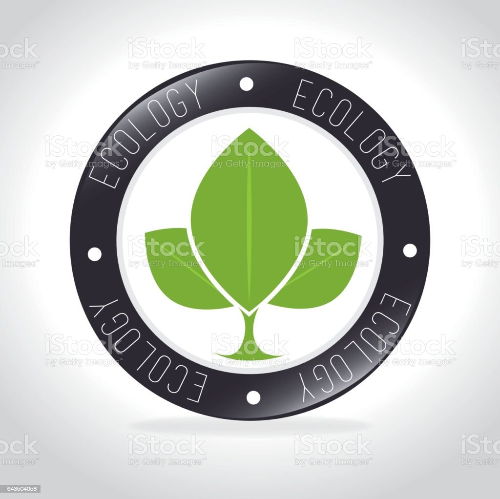Ecology Design Stock Vector Art More Images Of Advice 643504058