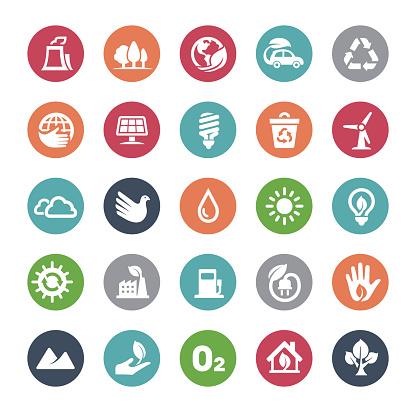 Ecology Icons - Bijou Series