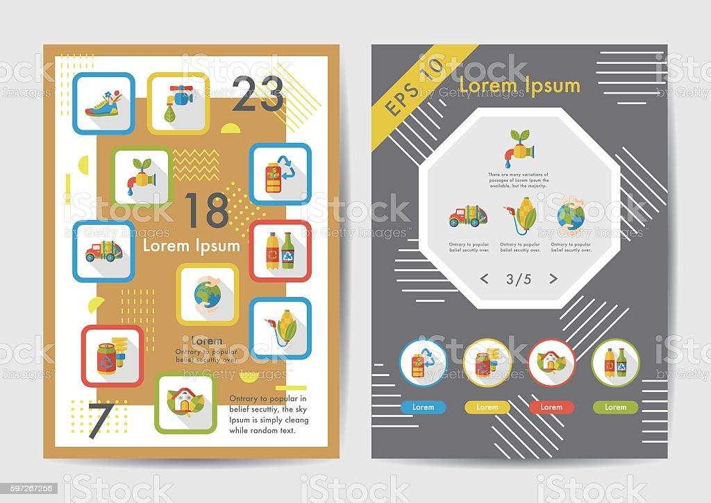 Ecology icons set with long shadow,eps10 Lizenzfreies ecology icons set with long shadoweps10 stock vektor art und mehr bilder von auto
