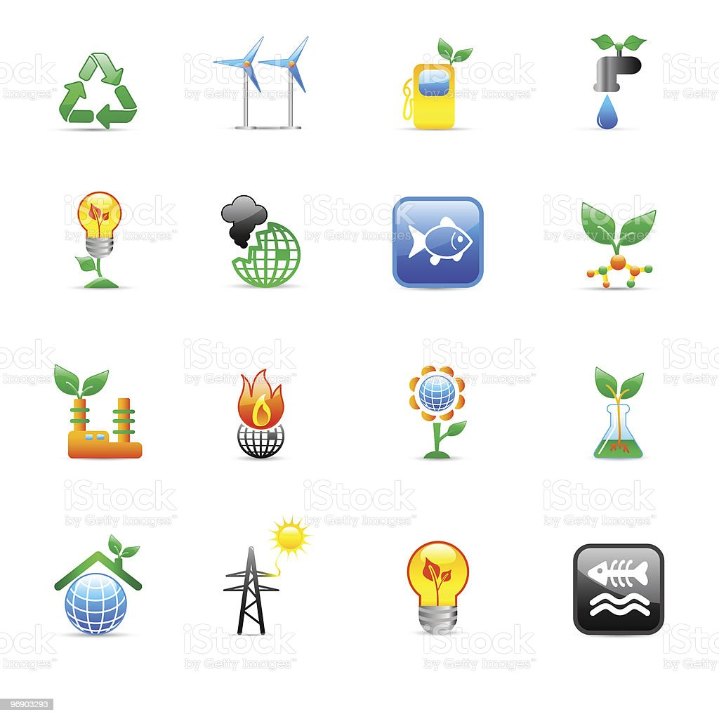 ecology icons royalty-free ecology icons stock vector art & more images of biology