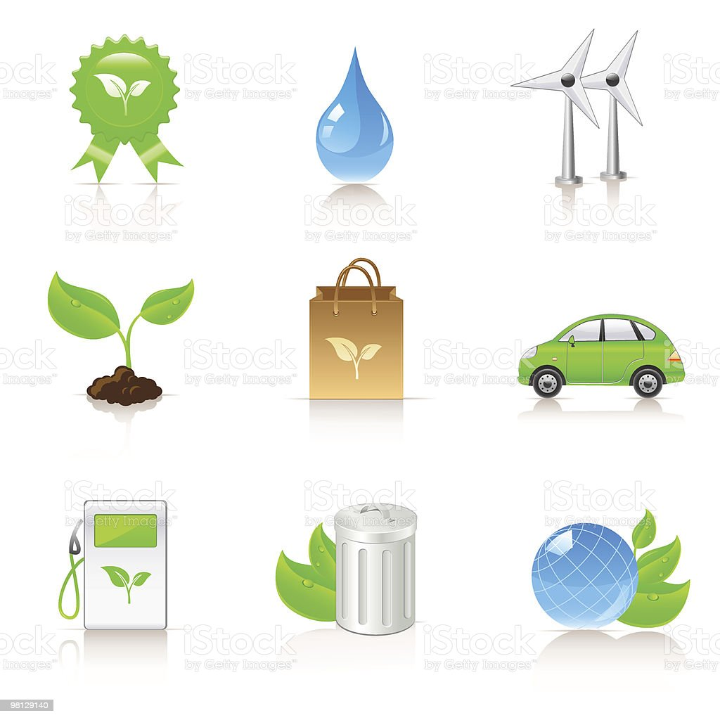 ecology icons royalty-free ecology icons stock vector art & more images of alternative energy