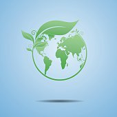 Vector Illustration : Ecology the earth