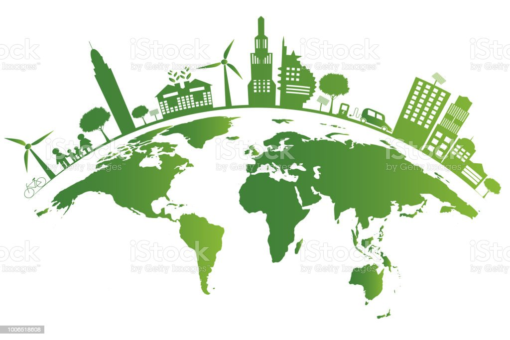 Ecologygreen Cities Help The Worldearth With Ecofriendly Concept