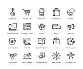 E-Commerce Icons - Line Series