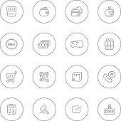 Vector file of e-commerce icon