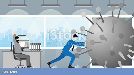 Vector illustration cartoon style concept and idea