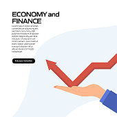 istock Economy and Finance Concept Vector Illustration for Website Banner, Advertisement and Marketing Material, Online Advertising, Business Presentation etc. 1265032056