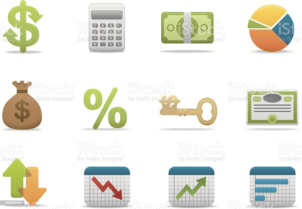 Economy & Finance icons | Premium Matte series royalty-free economy finance icons premium matte series stock vector art & more images of arrow symbol