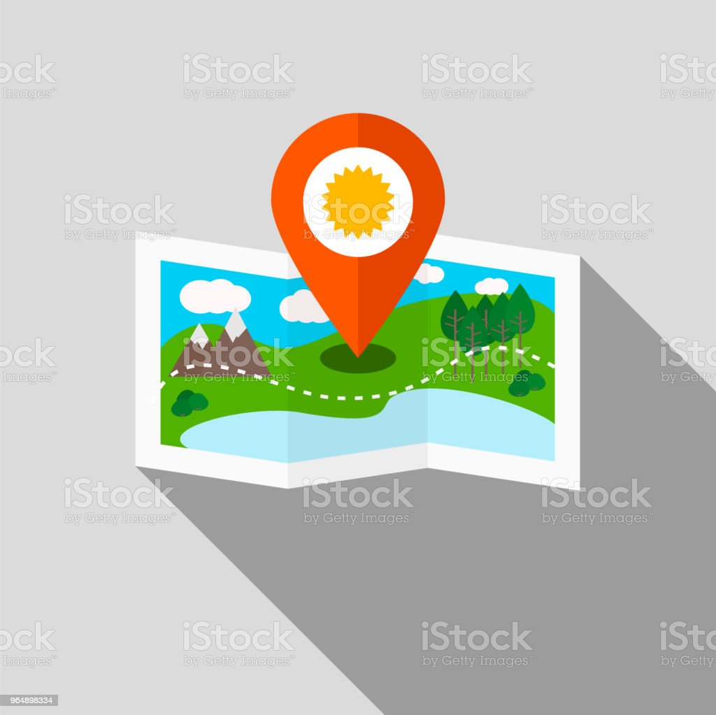 Ecotourism colorful vector illustration. royalty-free ecotourism colorful vector illustration stock vector art & more images of circle