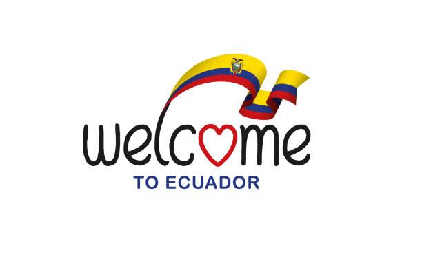 ilustraciones, imágenes clip art, dibujos animados e iconos de stock de fondo de bandera de ecuador - bandera de ecuador