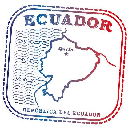 Ecuador Travel Passport Stamp