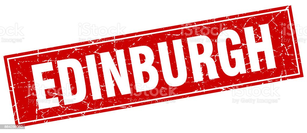 Edinburgh red square grunge vintage isolated stamp royalty-free edinburgh red square grunge vintage isolated stamp stock vector art & more images of backgrounds