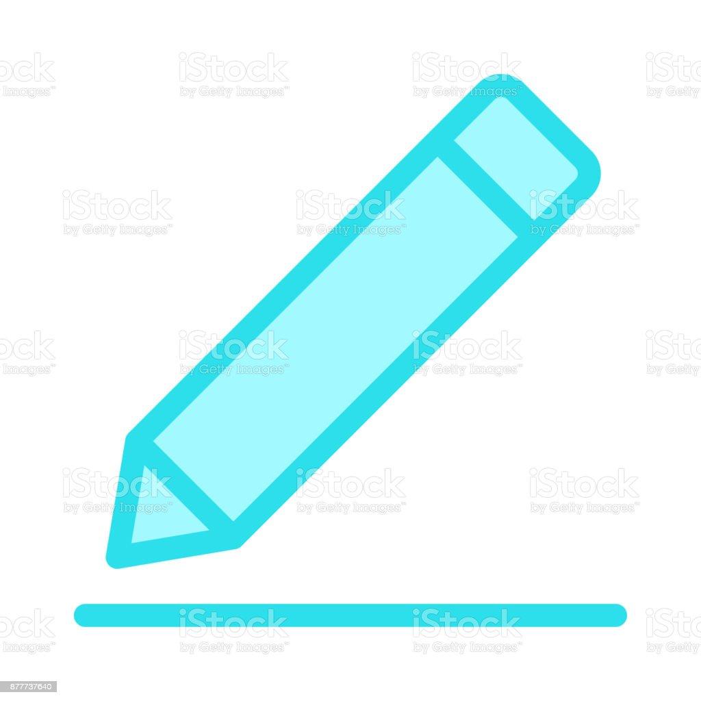 edit Colour Line Vector Icon