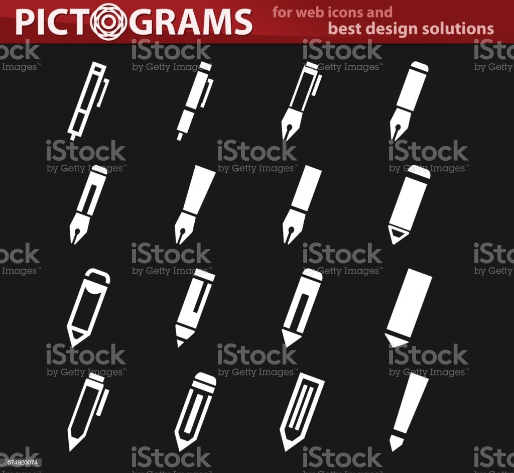 Edit icon set royalty-free edit icon set stock vector art & more images of control