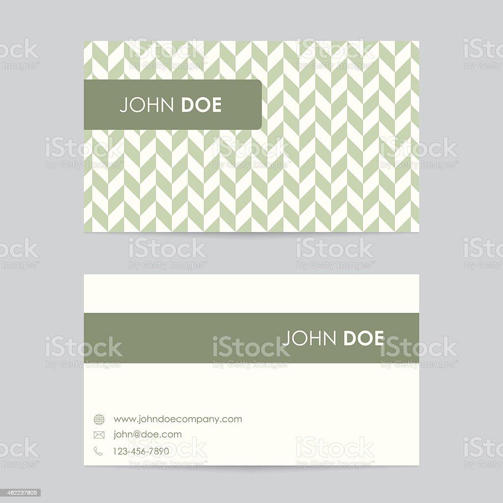 Editable Business Card Template Free: Editable Business Card Template Stock Illustration