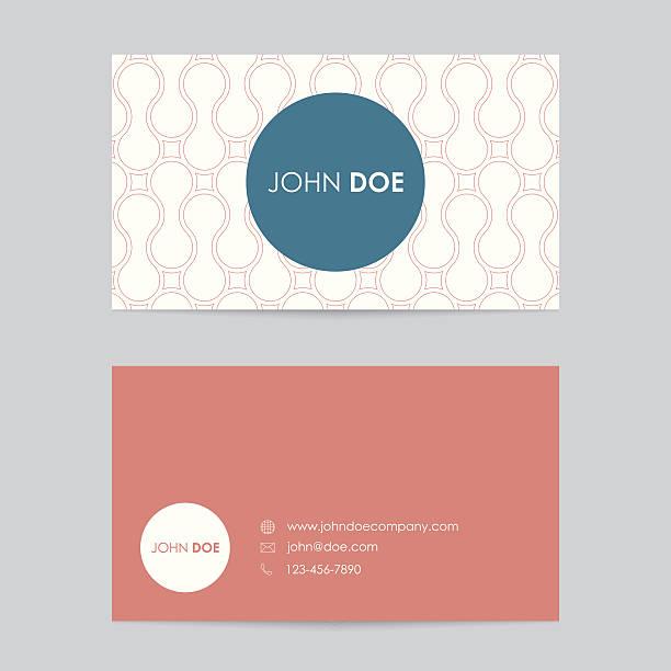 Royalty Free Editable Vector Business Card Template Clip Art Vector