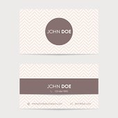 editable vector business card template