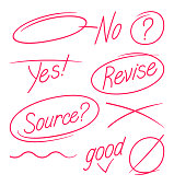 istock Editing and Paper Revision Grammar and Spelling Marks 1183393265