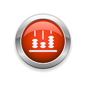 istock Education Abacus Glossy Icon 1323918566