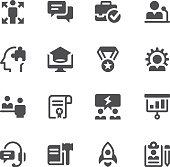 Education and occupation icons